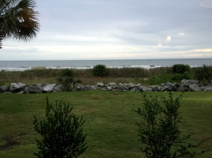 The view from Sea Captain's House
